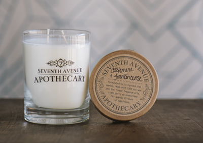 seventh avenue apothecary cashmere and frankincense candle