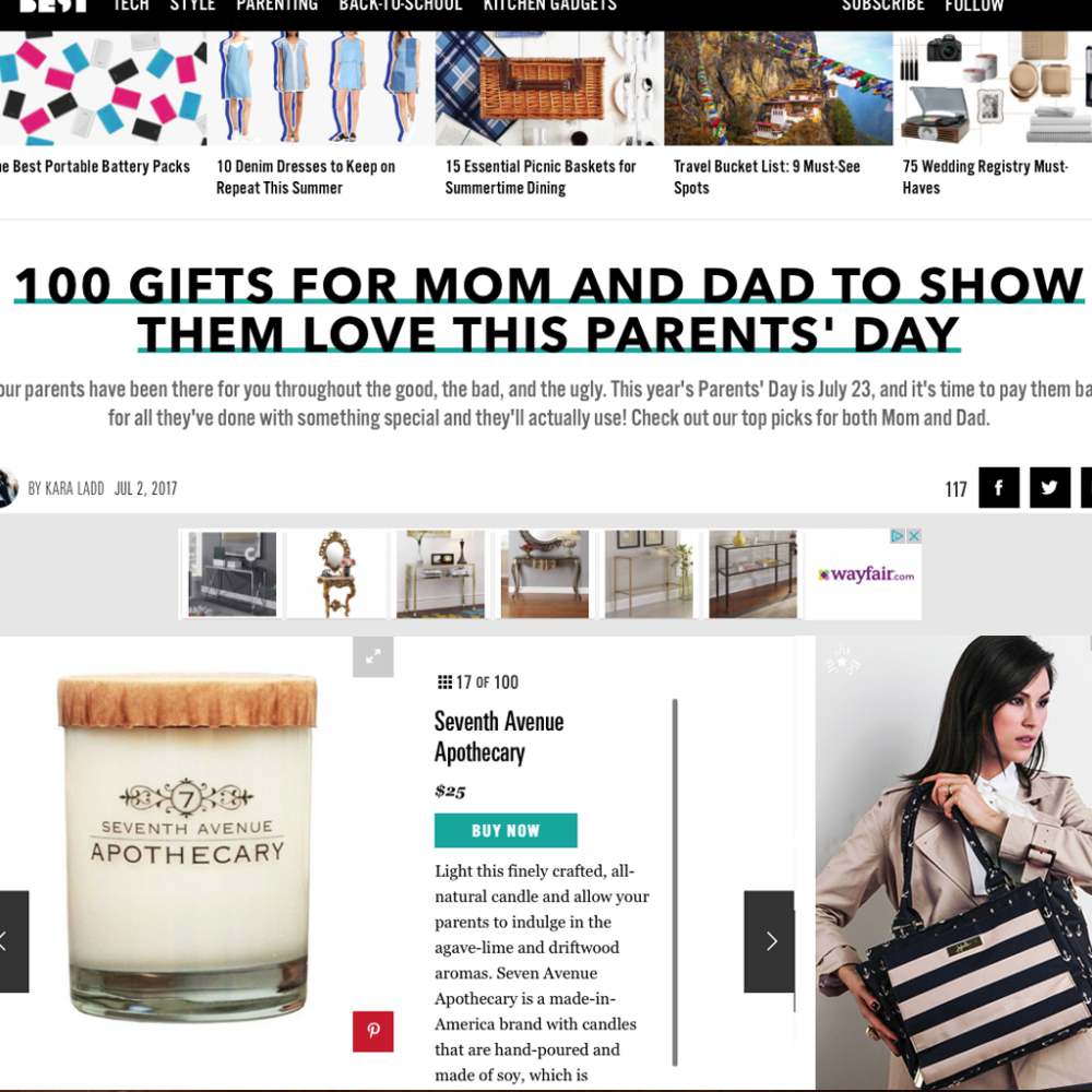 Best Gifts for Parents Day!